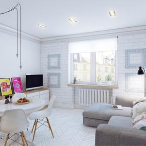 Лайфхак: Как визуально расширить маленькую комнату
