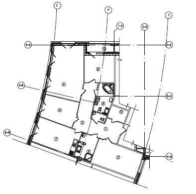 Планировки корпус 1а,1б,1в