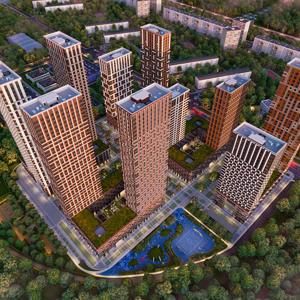 Топ-10 жилых комплексов массового сегмента с самыми высокими темпами строительства