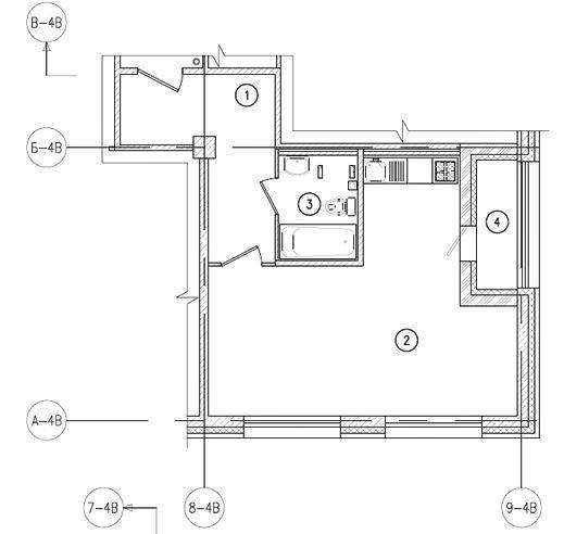 Планировки корпус 4б,4в